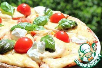 "Пицца на сковороде ""4 сыра"""