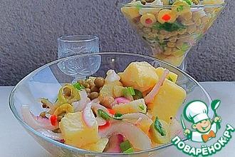 """Картофельный салат """"Сытный"""""""