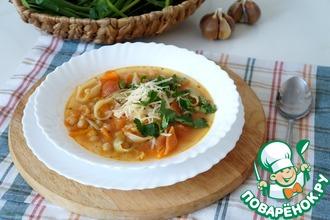 Суп с нутом в итальянском стиле