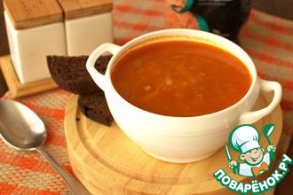 Суп из чечевицы с капустой