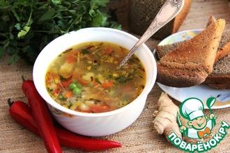 Согревающий куриный суп