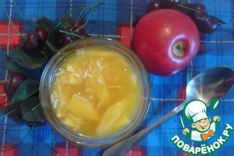 Суп с манго и рисом