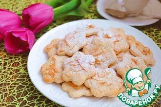 Постное печенье на кокосовом молоке