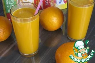 Кисель овсяный облепихово-апельсиновый