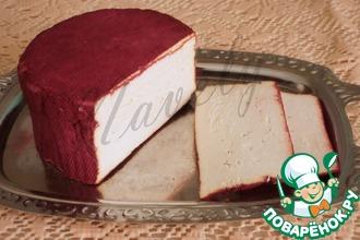Сыр из рикотты, выдержанной в вине