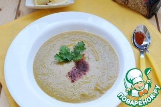 Палестинский суп из чечевицы и тыквы