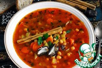 Марокканский суп с финиками
