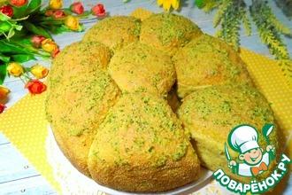 Овсяно-тыквенные булочки с соусом
