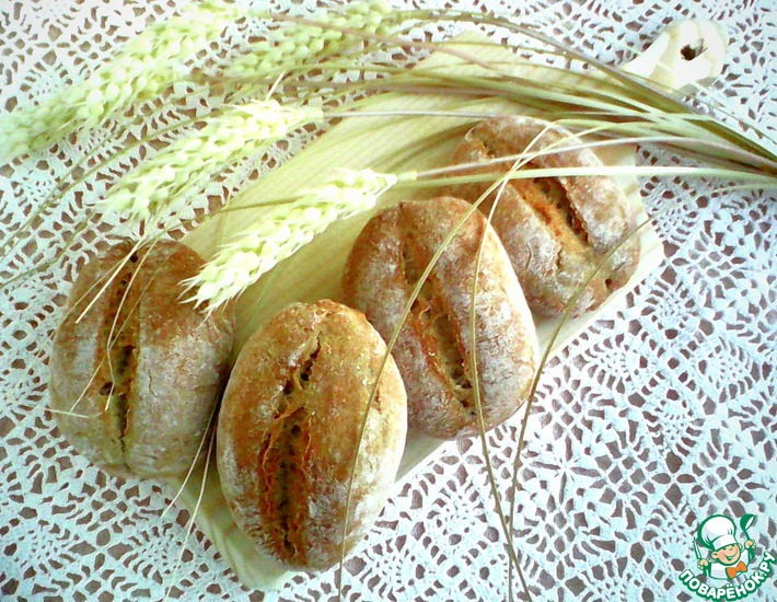 Булочки ржано-пшеничные