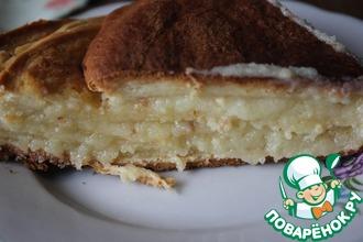 Монастырский молочный пирог