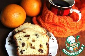 Апельсиново-финиковый кекс