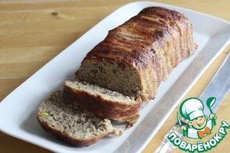 Мясной хлеб с фисташками