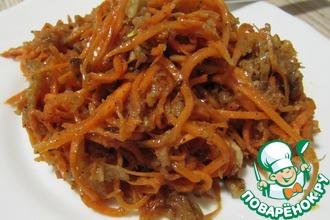 Морковча по-корейски некорейская