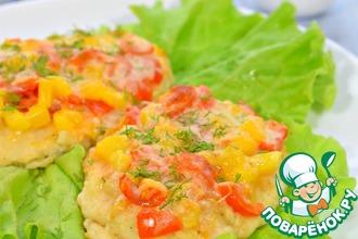 Филе куриное с овощами и сыром