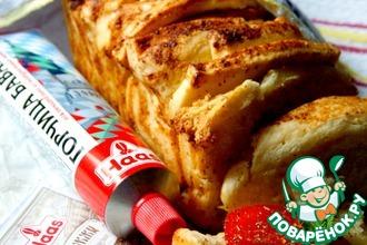 """Итальянский хлеб """"Гармошка"""" с горчицей"""