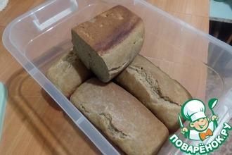 Формовой ржаной хлеб на быстрой закваске