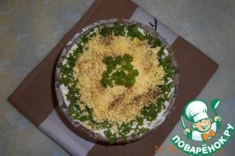 Салат из минтая с фасолью
