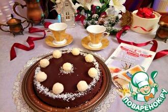 """Шоколадный тарт """"Баунти"""""""