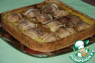 Яблочный пирог по-эльзасски