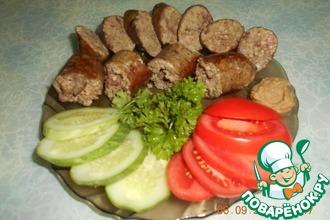 Колбаски из куриной печени с пшеном