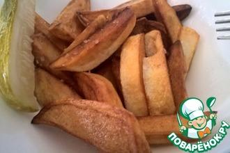 Жареный картофель быстро