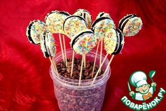 Кейк-попсы из печенья «Орео»
