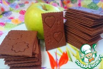 """Шоколадное печенье """"Тонкая штучка"""""""