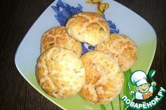 Творожные булочки с зеленью