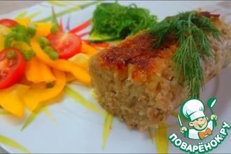 Картофельная колбаса с мясом