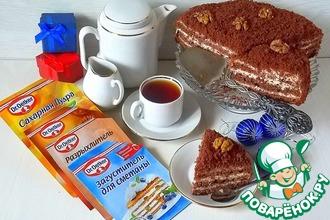 """Классический торт """"Поль Робсон"""""""
