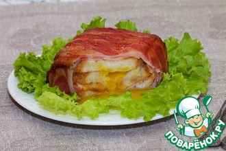 Сытный сэндвич для перекуса