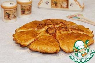 Порционная пицца-пирог