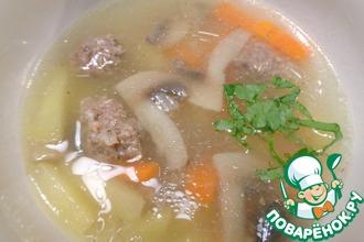 Домашний суп «Гармоничный»