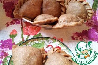 Цельнозерновые песочные пирожки с соленой начинкой