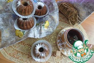 Постные кофейные кексы