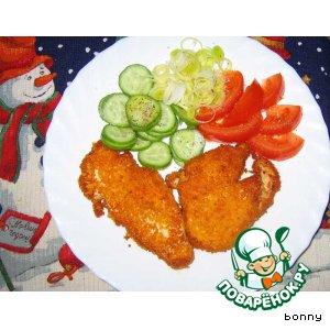 Грудки куриные в острой панировке