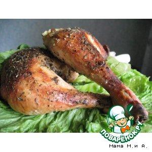 Куриные ножки с хрустящей кожицей