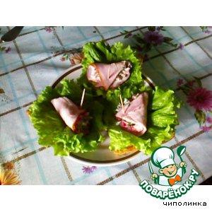 """Бутерброды """"Вкус весны"""""""