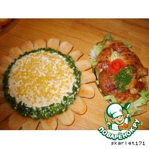 "Рыбный салат ""Подсонух"""