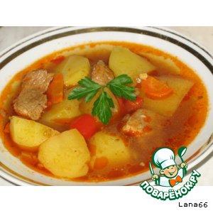 Картофельный суп дня