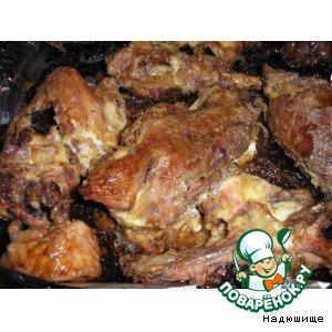 Курица в майонезе