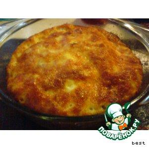 Рыбно-сырное суфле