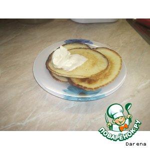 Оладьи на завтрак на кефире