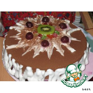 """Муссовый торт """"Смородинка"""""""