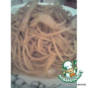 Спагетти с капустой