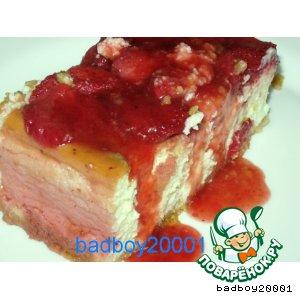 """Творожный торт """"Ламбада"""""""
