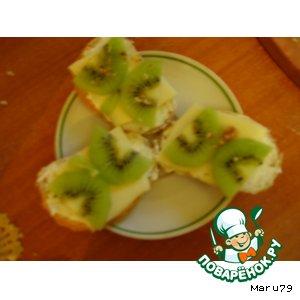"Мини-бутерброды ""Бабочка"""