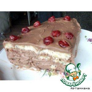 Орехово-шоколадный торт