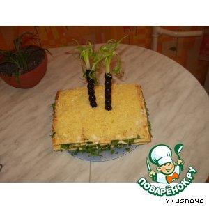 """Закусочный торт """"Оазис"""""""