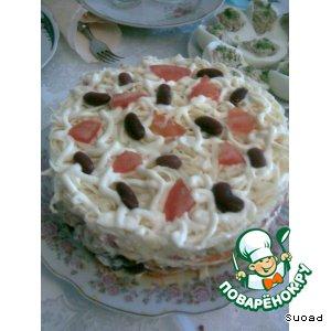 "Салат-торт ""Шедевр"""